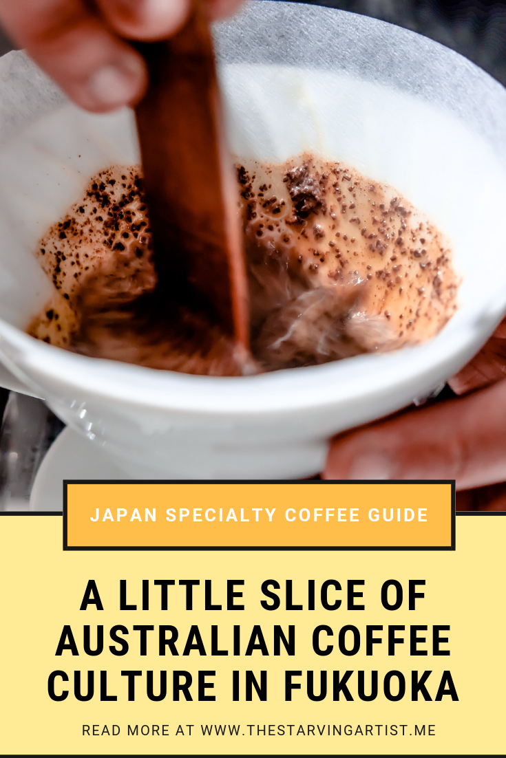 A little slice of Australian Coffee Culture can be found in the heart of Fukuoka in Japan at a cafe called Modoo's Coffee Brewers. This cafe has only been open for a few months but it has a huge heart. If you're looking for the perfect magic or v60 pour over then look no further than Modoo's coffee shop.