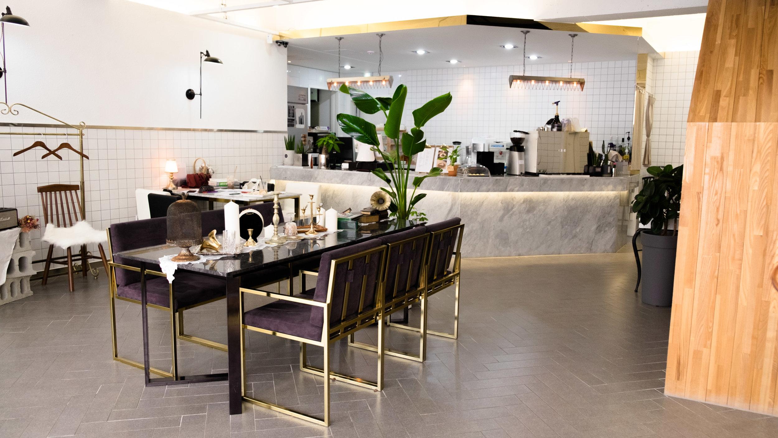cafe 2017 Mokpo interior