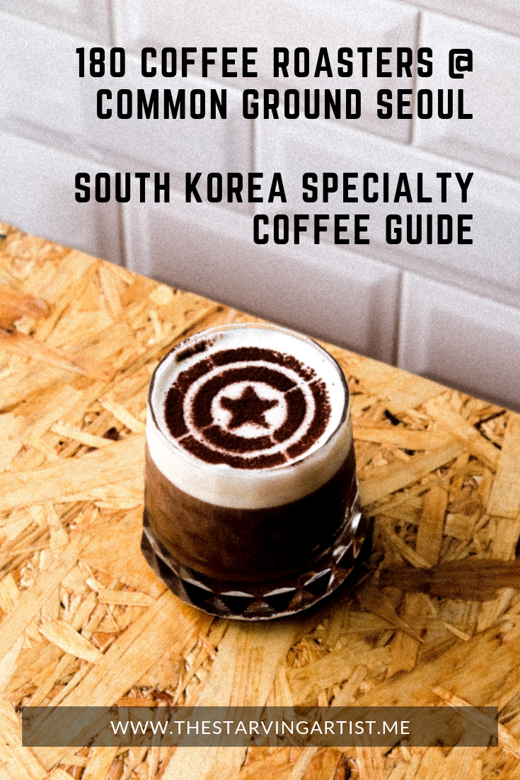180 Coffee Roasters at Common Ground Seongsu Seoul South Korea. Specialty coffee guide South Korea. At 180 Coffee Roasters they are serving up award winning cold brew, espresso and specialty coffee recipes.