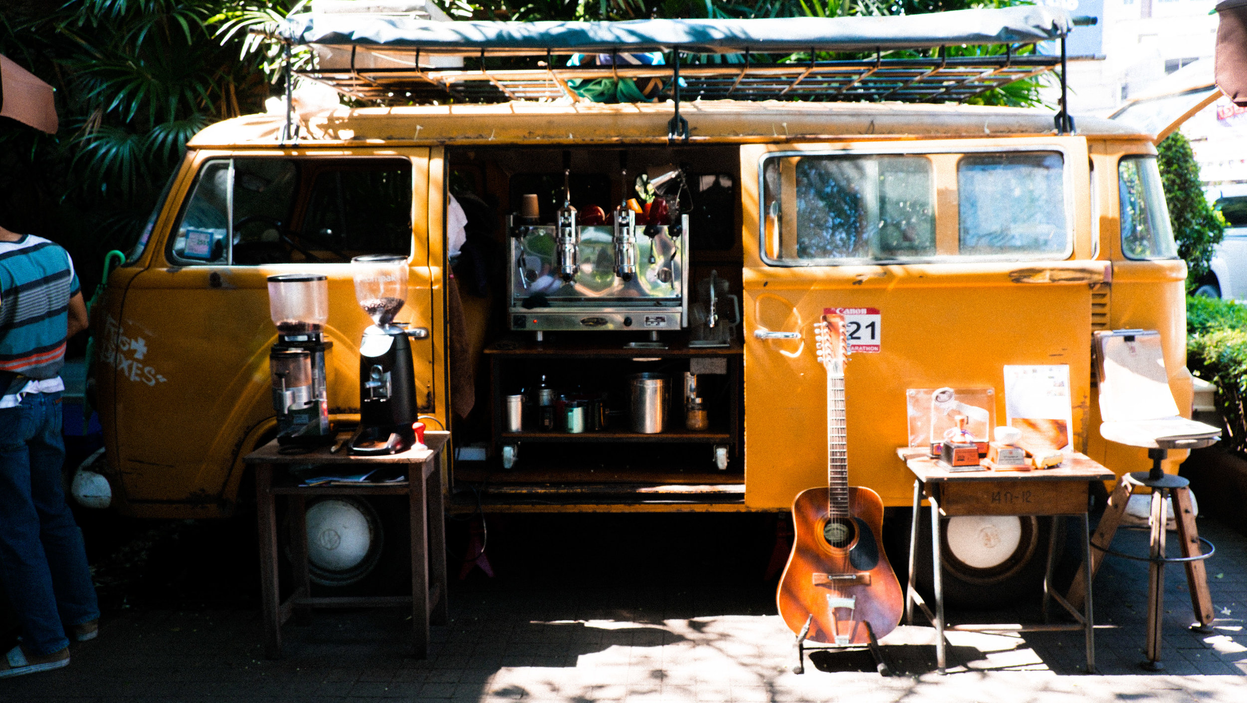 Trailer coffee Chiang Mai. Thailand specialty coffee guide.