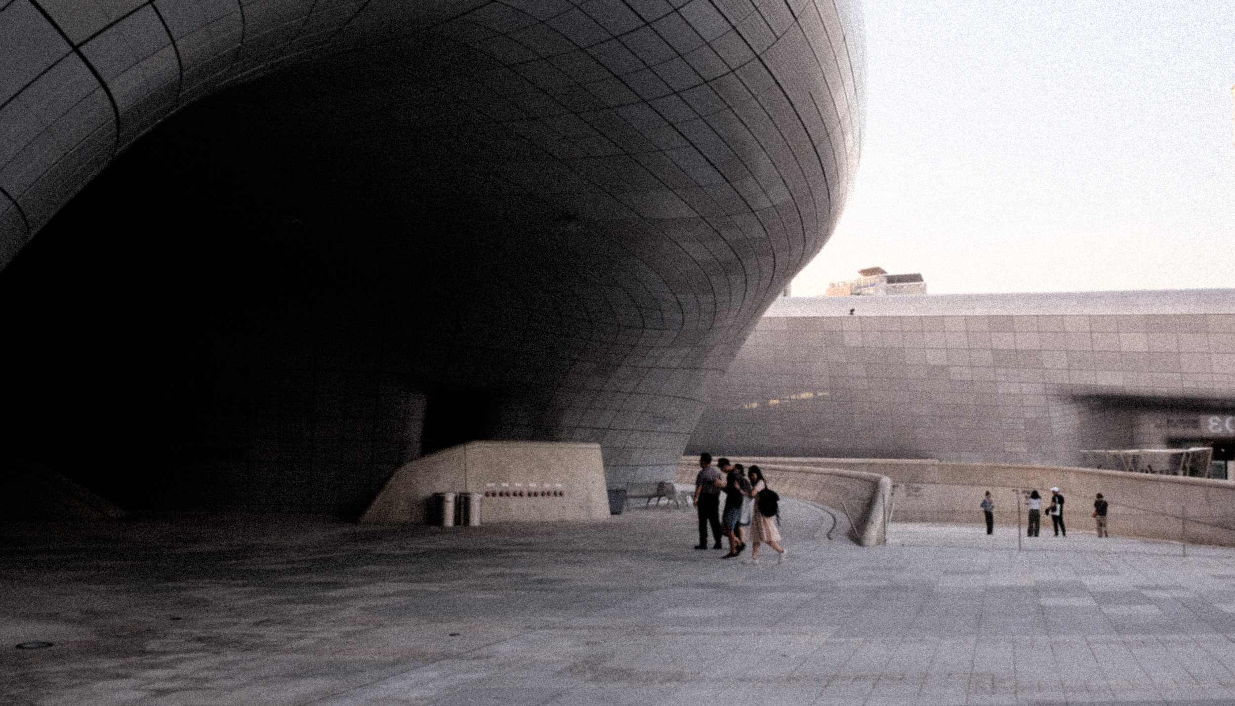 The Starving Artist Home page. Dongdaemun Design Plaza Seoul