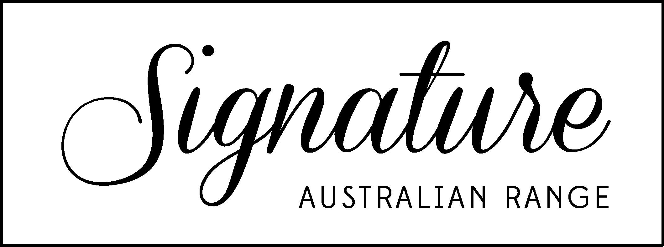 Signature Australian Range logo