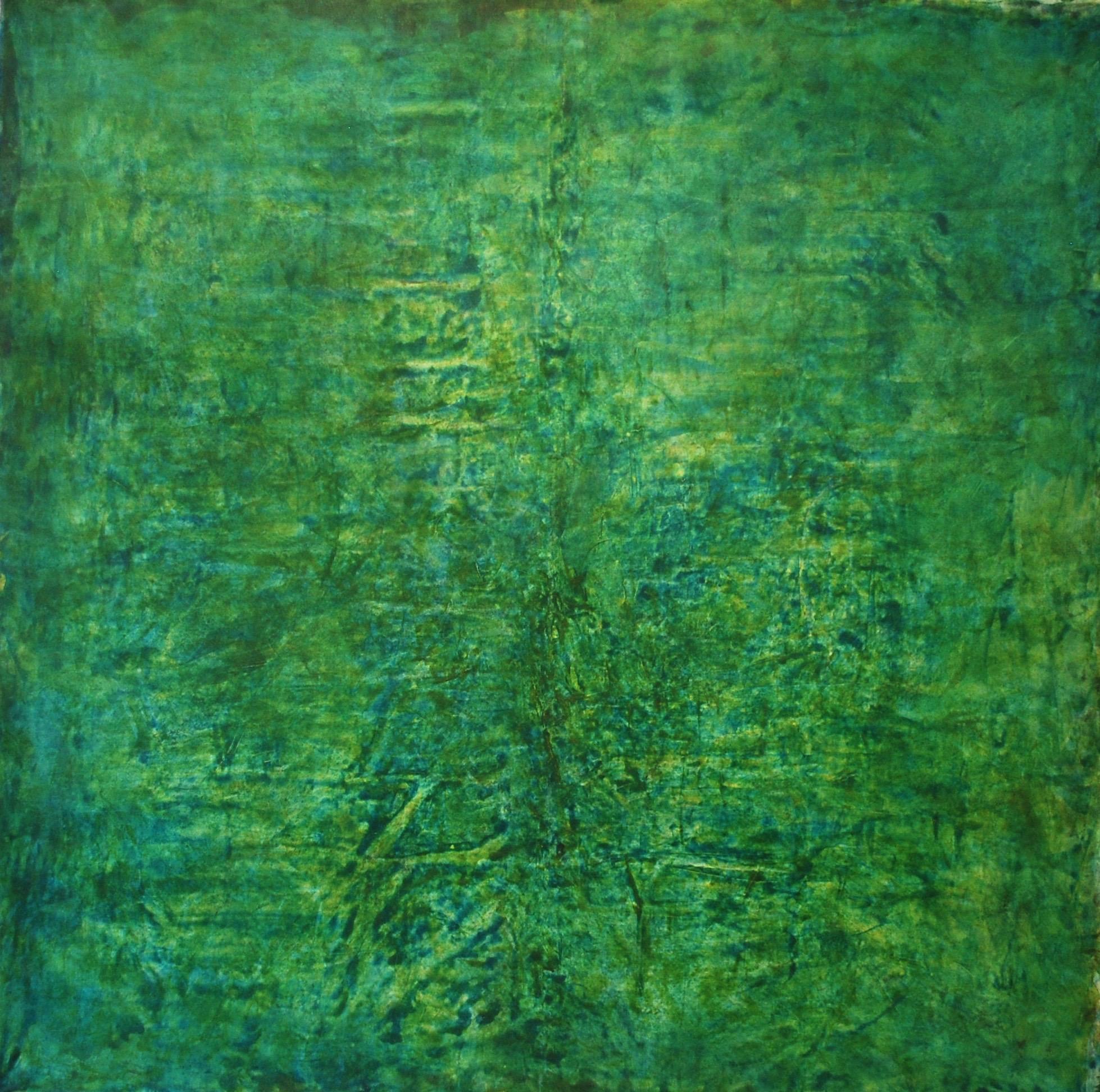 Akryl och olja på duk  200 x 200
