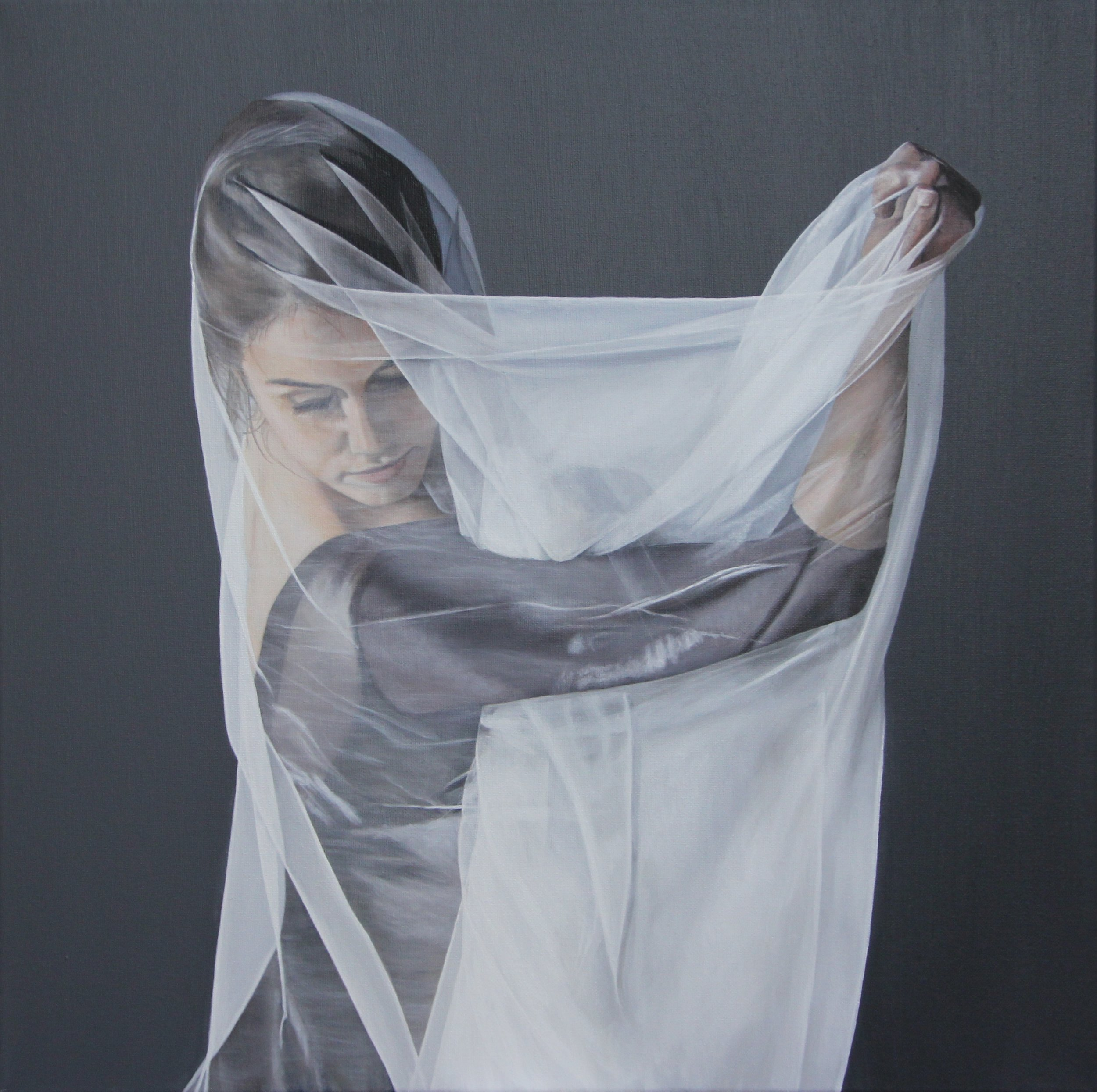 Veiled Within | 20x20"