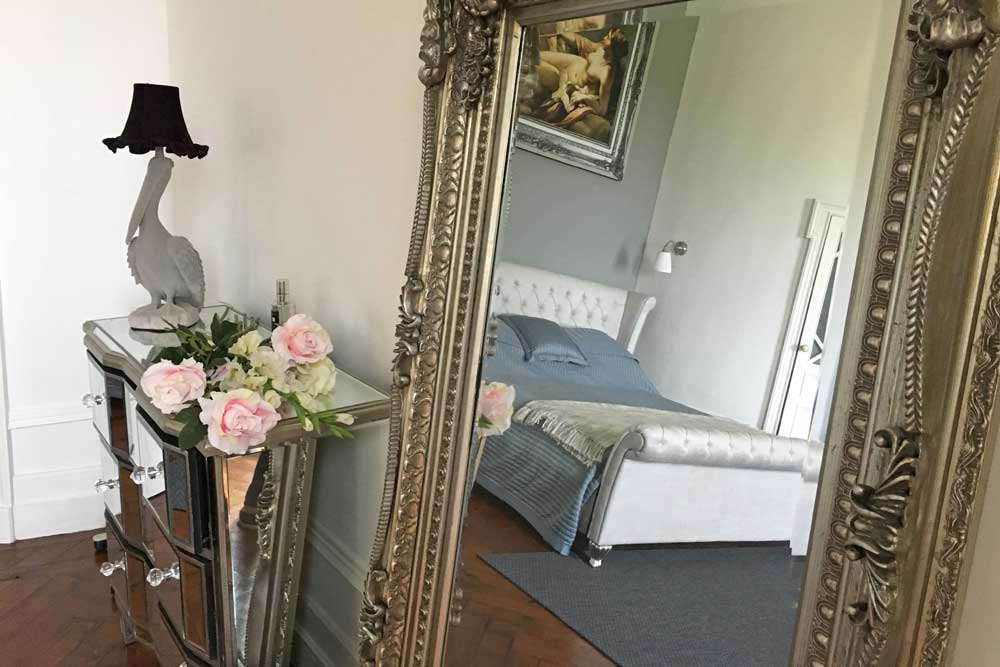 Chateau to rent in south west France with gorgeous decor