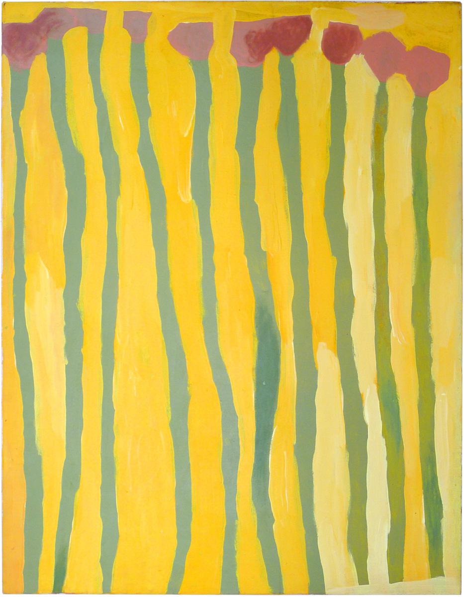 Lisa Uhl, Kurrkapi, acrylic on canvas, 120 x 90 cm