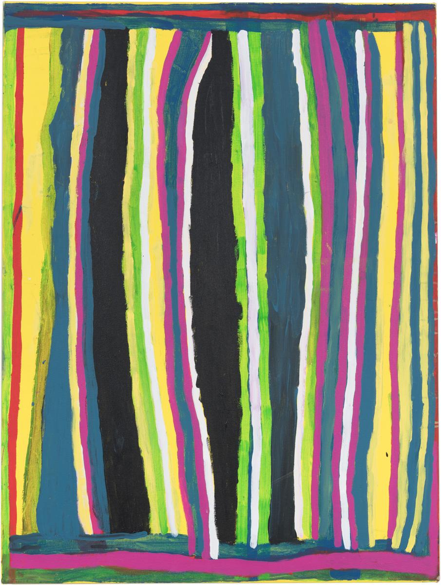 Dolly Snell, Kurtal, acrylic on canvas, 120 x 90 cm