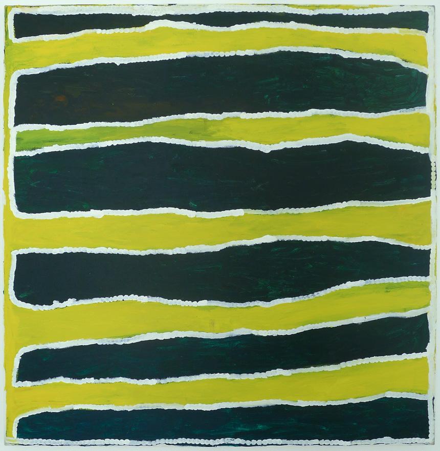 Cory Wakartu Surprise, Mimpi, acrylic on canvas, 120 x 120 cm