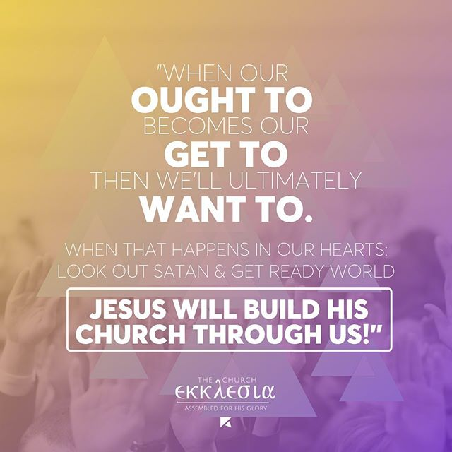 When it comes to sharing Christ's work in the kingdom of God, do you want to engage in His work? #thechurchshares #jesusbuildyourchurch #yycchurch #greatcommission #churchplanting #ourcalling @greatcommissioncollective @redemptioncalgarysouth