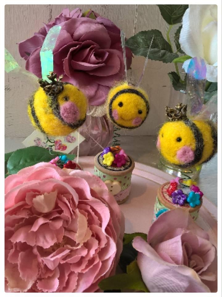 MLV needle felt bees.jpg