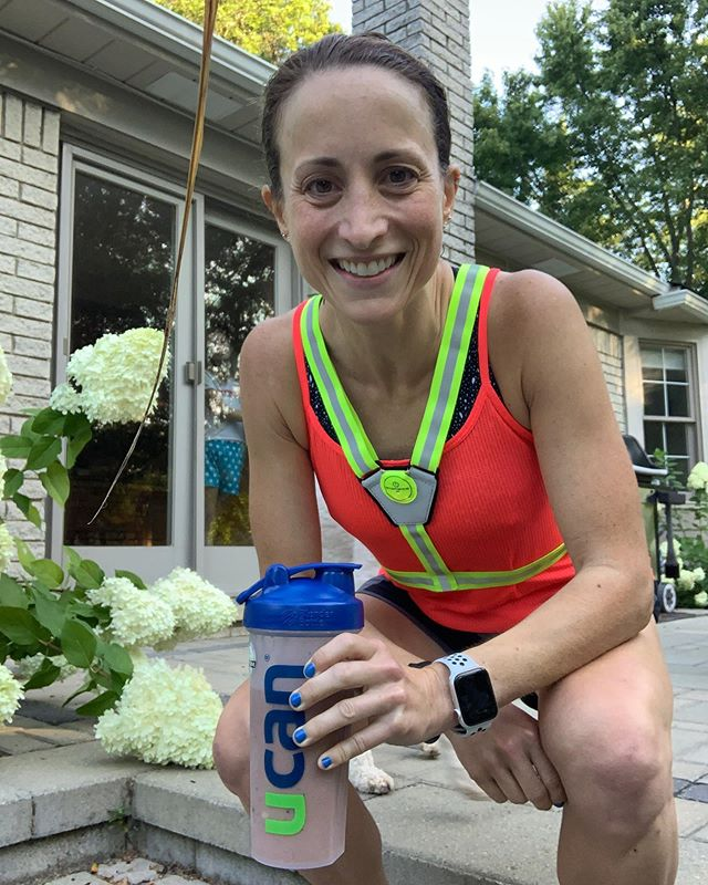 Had to get my long run in this morning due to my daughter's busy soccer weekend.  6 miles easy, 4 x 2 miles at 6:52 (swipe to see just how precise I was!), and a 2 mile cool down.  I am struggling with what shoes to wear for @indymonumental marathon.  Choices are somewhat limited for a lightweight shoe with some support.  I'm debating between the Asics DS Trainer and the Brooks Asteria.  I prefer the feel of the Asteria but I'm not sure it's enough shoe for 26.2.  Thankfully I have some time to decide.  #lrpsub3 #bemonumental #RADrabbit #ucan #longrun #marathon #marathontraining #mastersrunner #biggoal #aimhigh #runmichigan