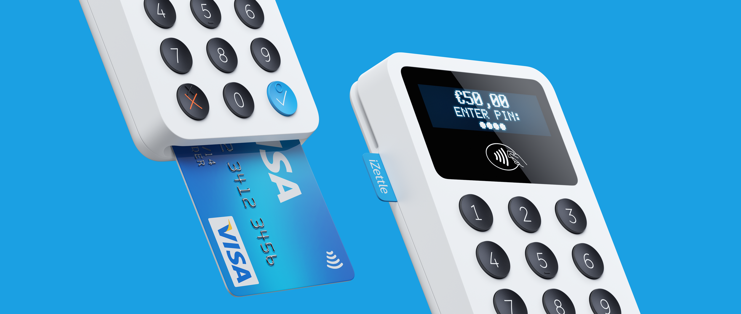iZettle  Mobile payments made easy  Design strategy & Industrial design