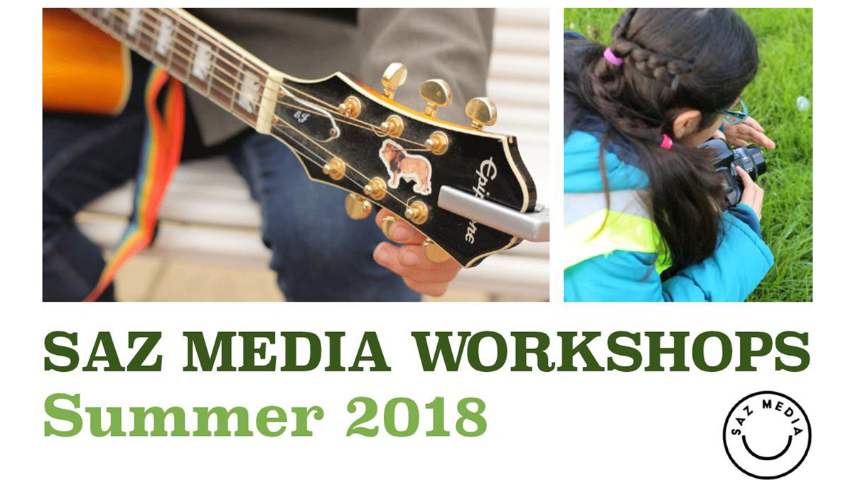 SAZ MEDIA WORKSHOP BANNER