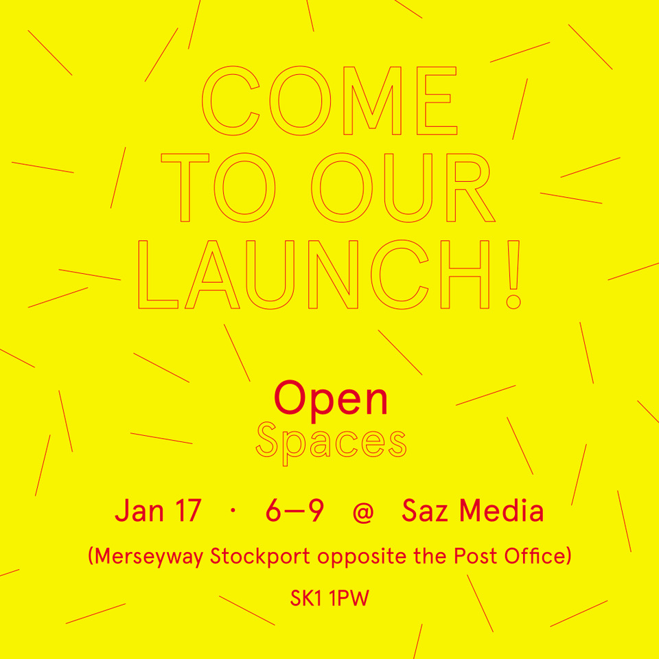 Open Spaces launch at SAZ MEDIA