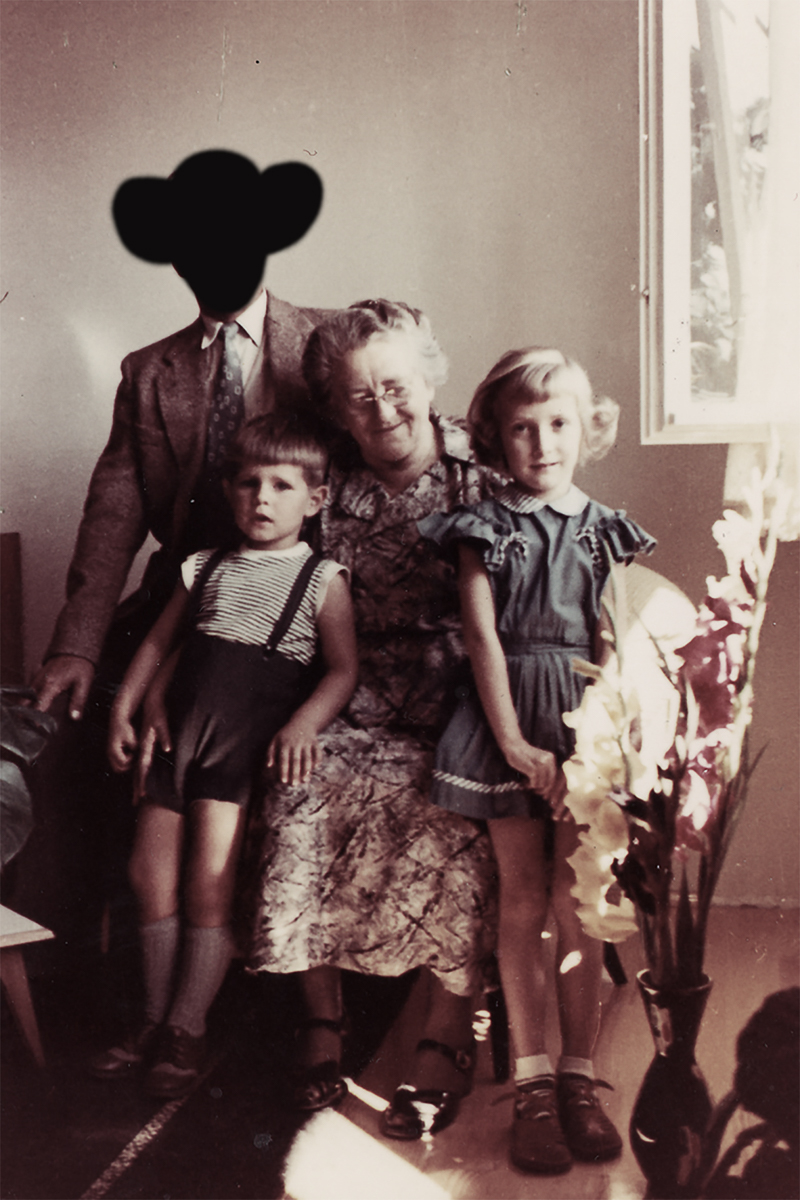 The Family: photo composing/paper, 2013