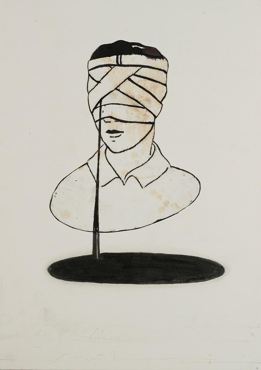 Pilot: ink/paper, 35 x 25 cm, 2008