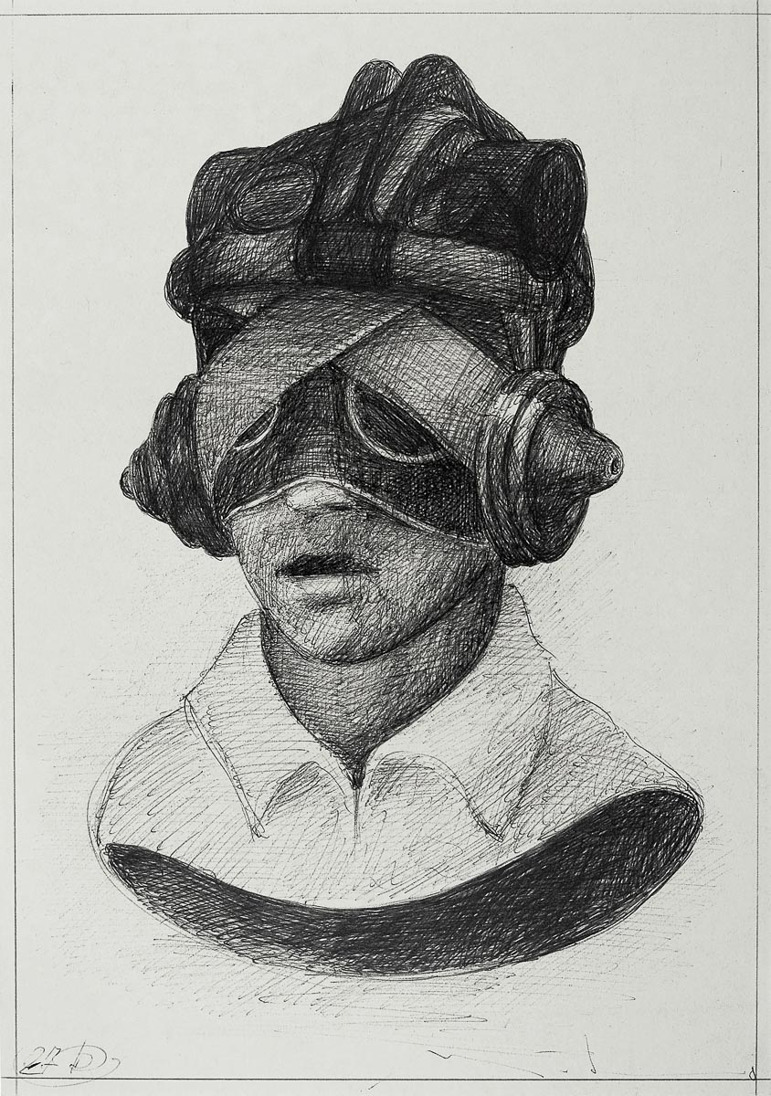 Pilot: ink/paper, 30 x 20 cm, 2008