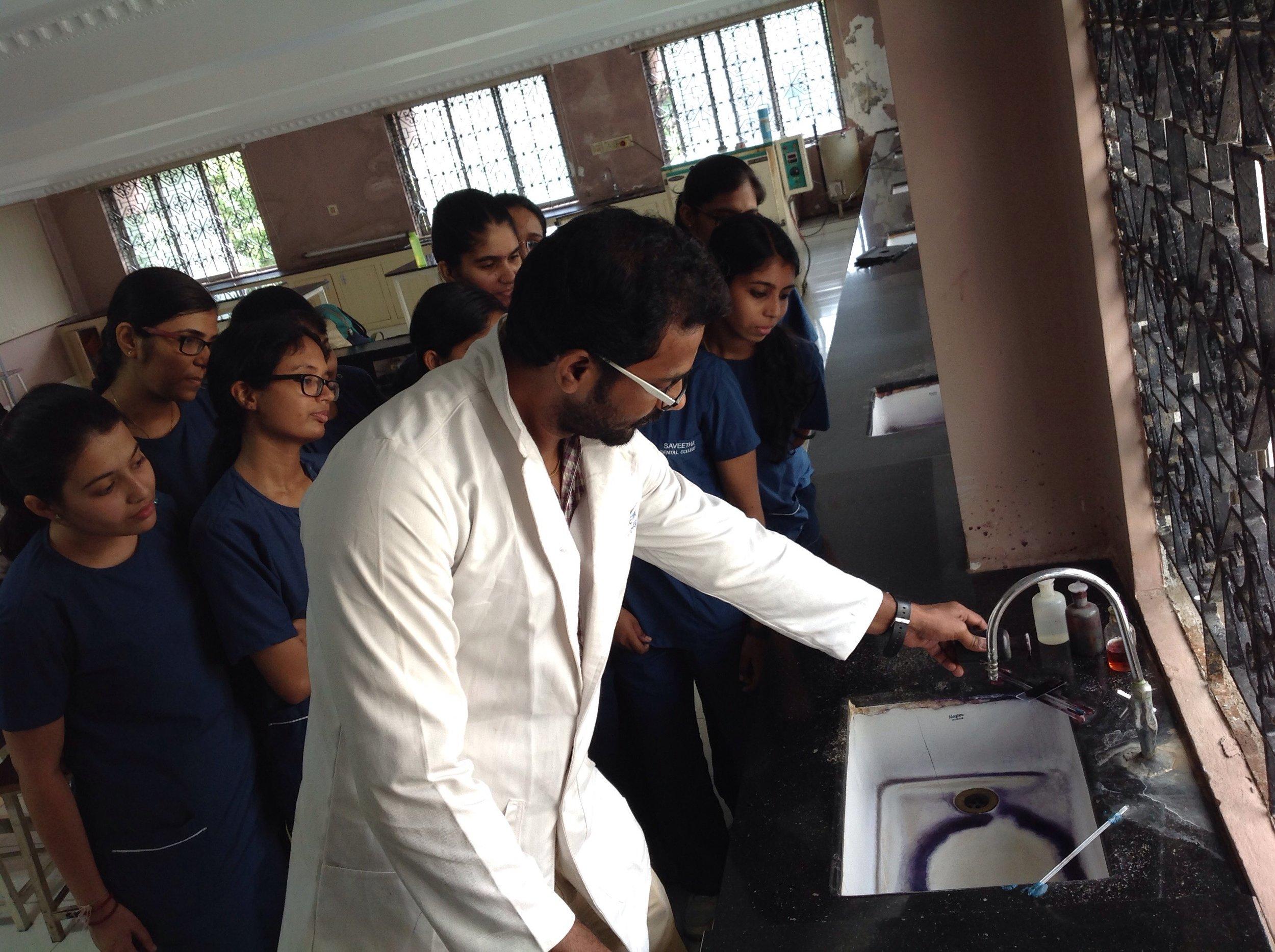 Demonstration of Grams staining
