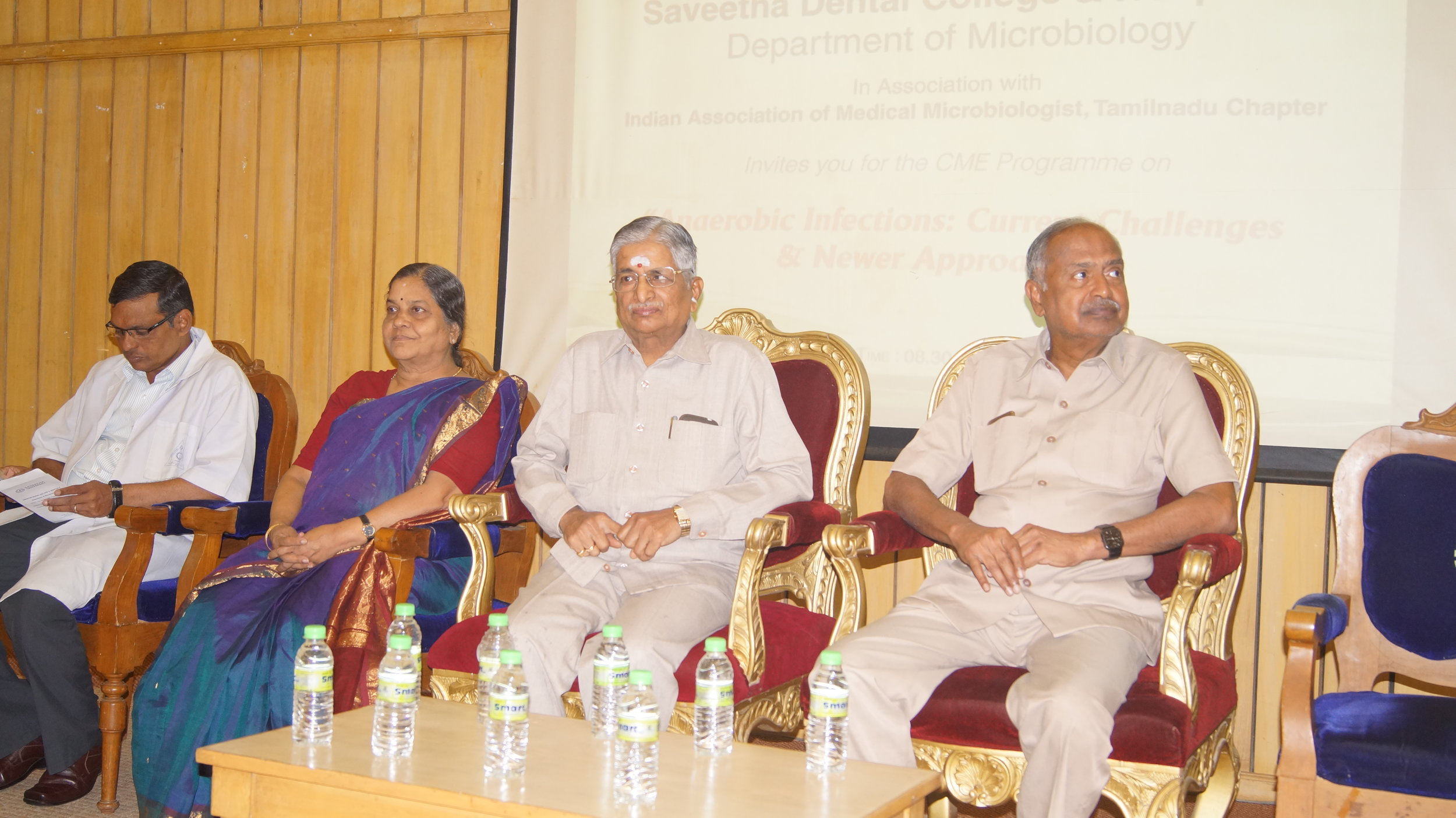 """CME programme on """"Anaerobic infections: Current Challenges and Newer Approaches"""", IAMM Tamilnadu chapter meet"""