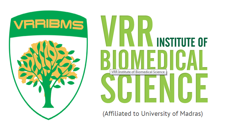 MOU with VRR Biomedical Sciences Institure, Chennai