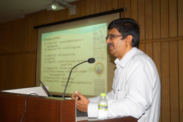 Guest Lecture given by our Adjunct Faculty Dr. V. Gopalakrishnan, Associate Professor, University of Kuala Lumpur, Royal College of Medicine on May 12, 2017 by Dept of Microbiology