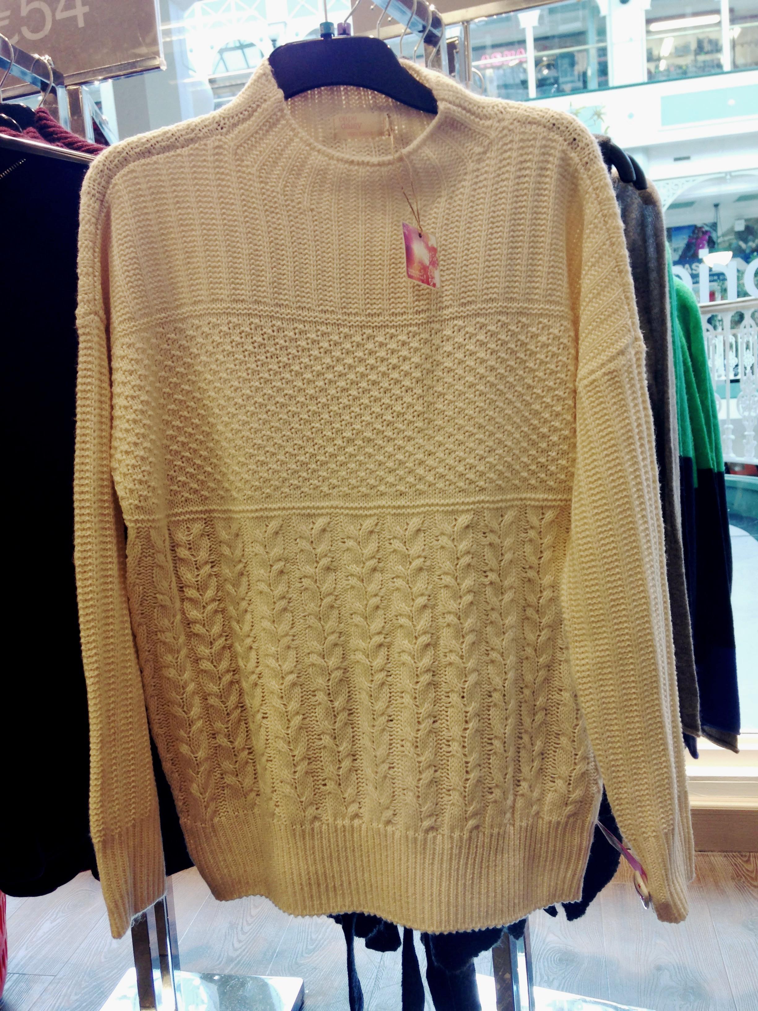 Tk Maxx! Cream traditional knit. €26.99