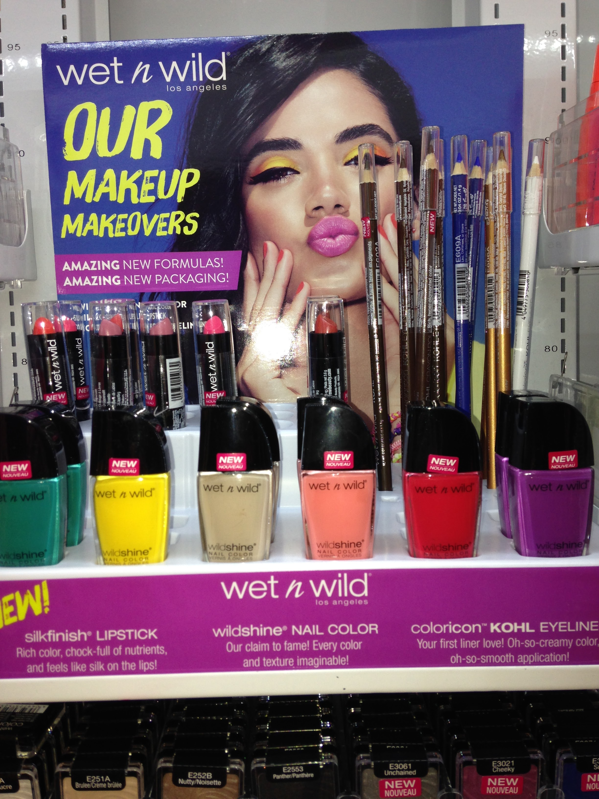 Another great way to inject colour into your life ,nail polish from Wet and Wild from €1.99 Penneys. Great colours available