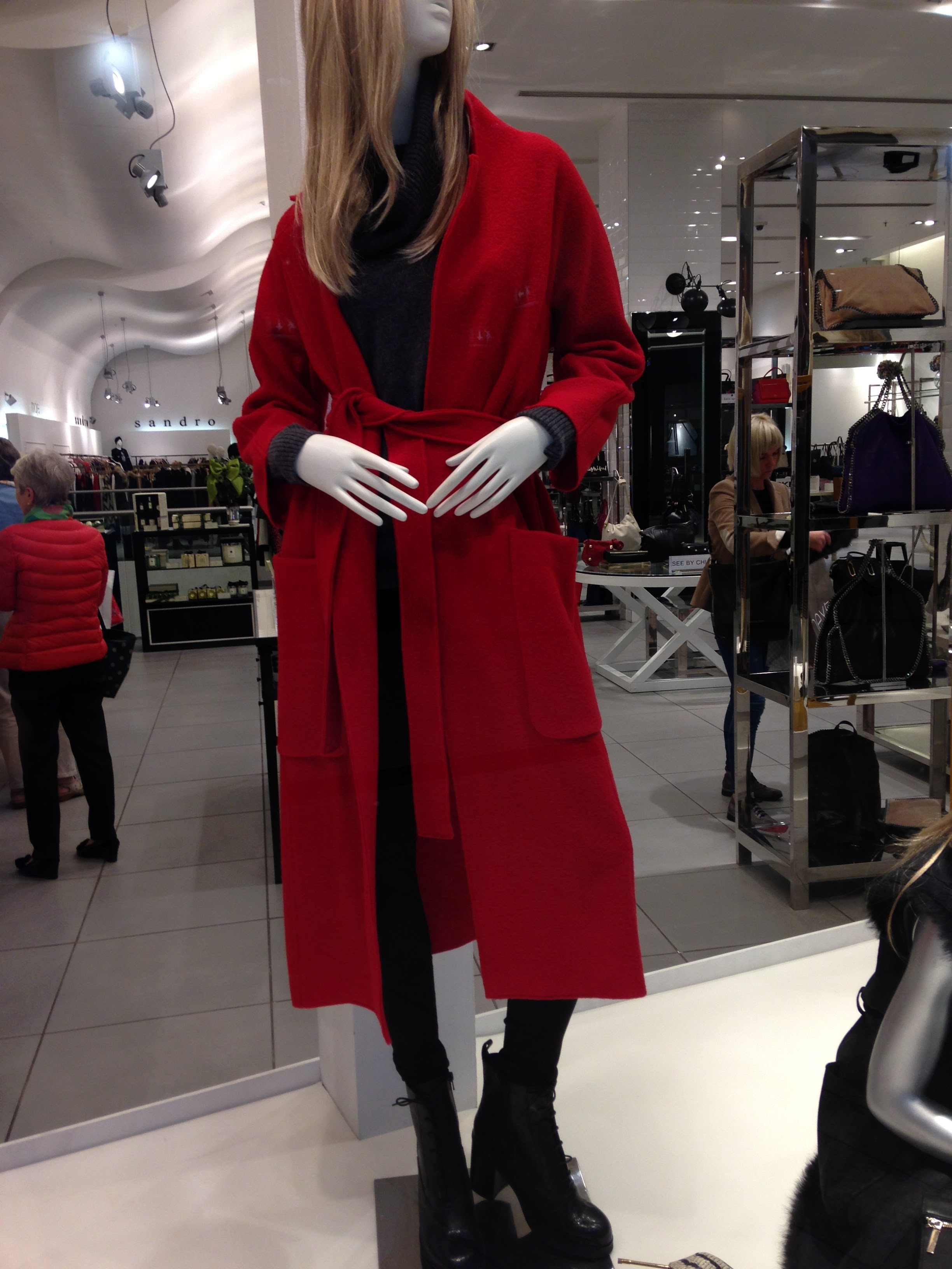 Fab Red coat from BT2. By Maje. Price Unmentionable!!
