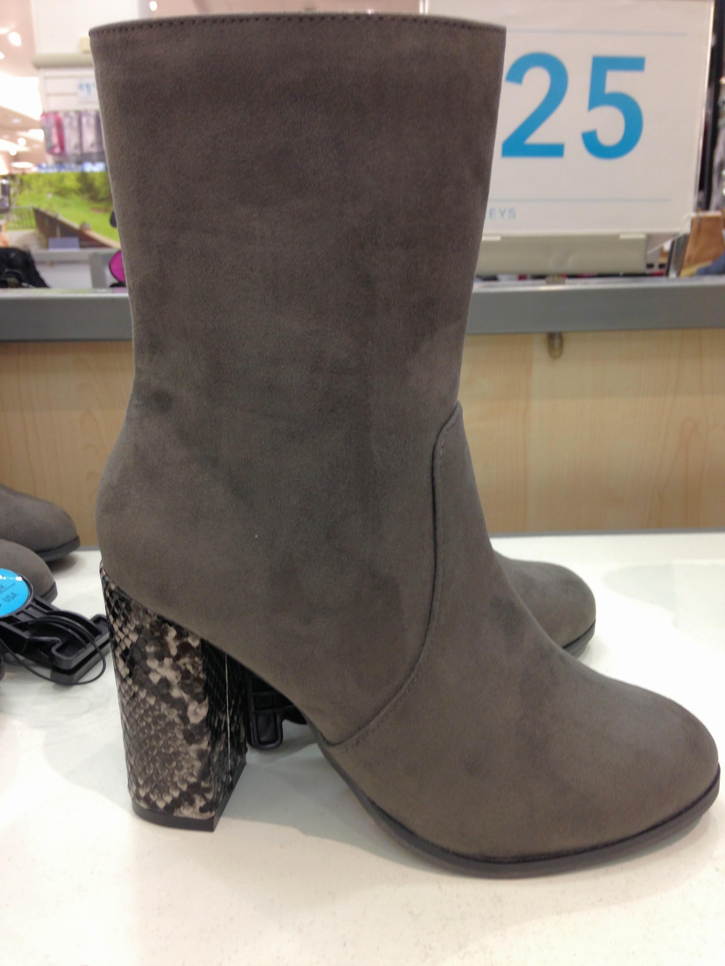 Pennys grey boot