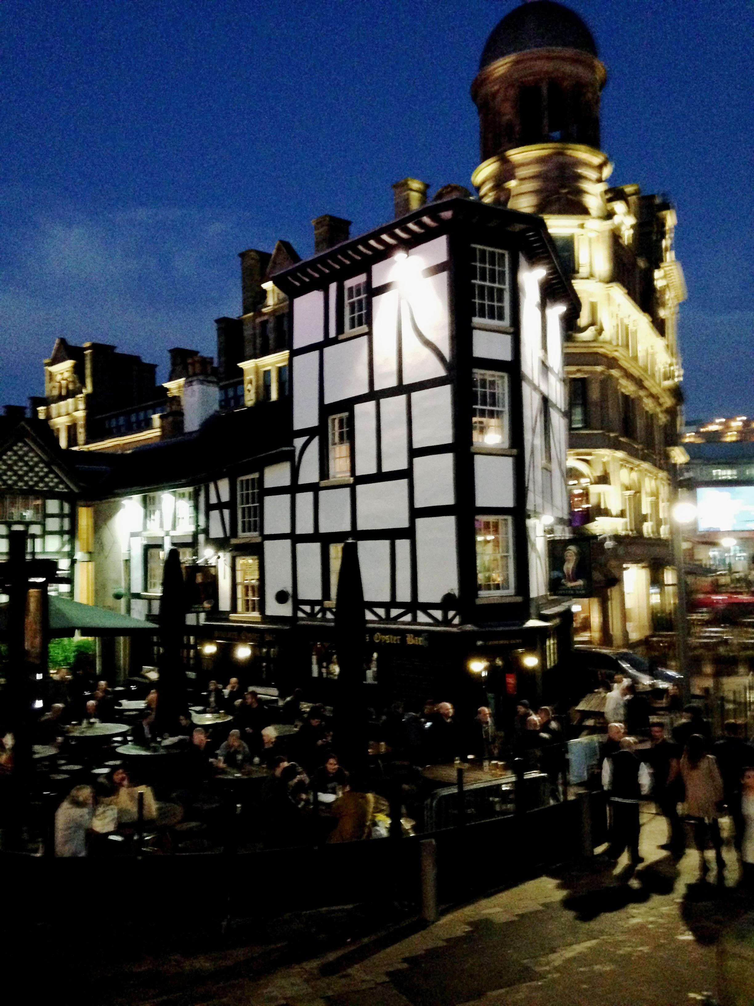 Original tavern pub city centre Manchester!