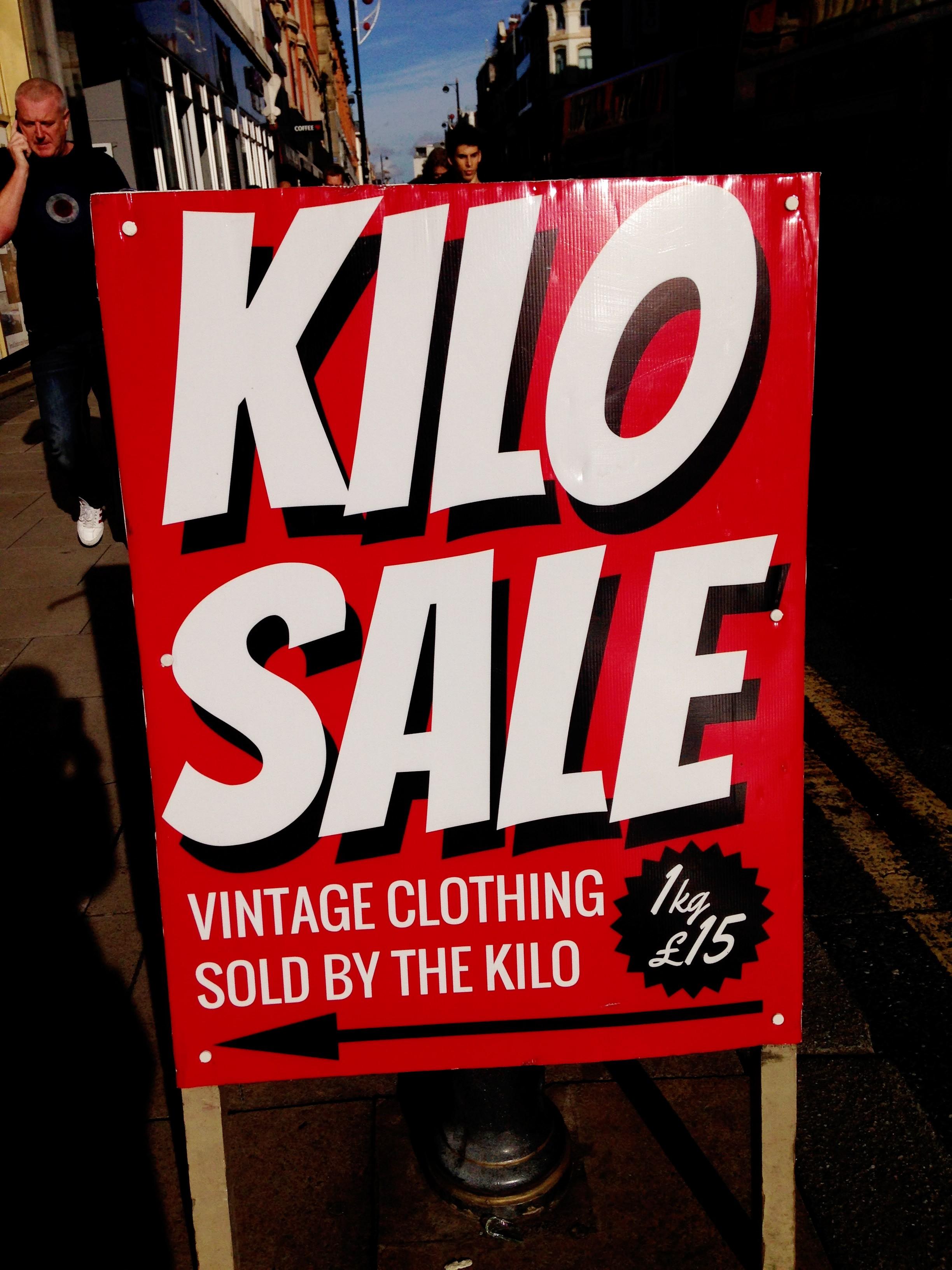 Blue Rinse Kilo Sale Manchester!