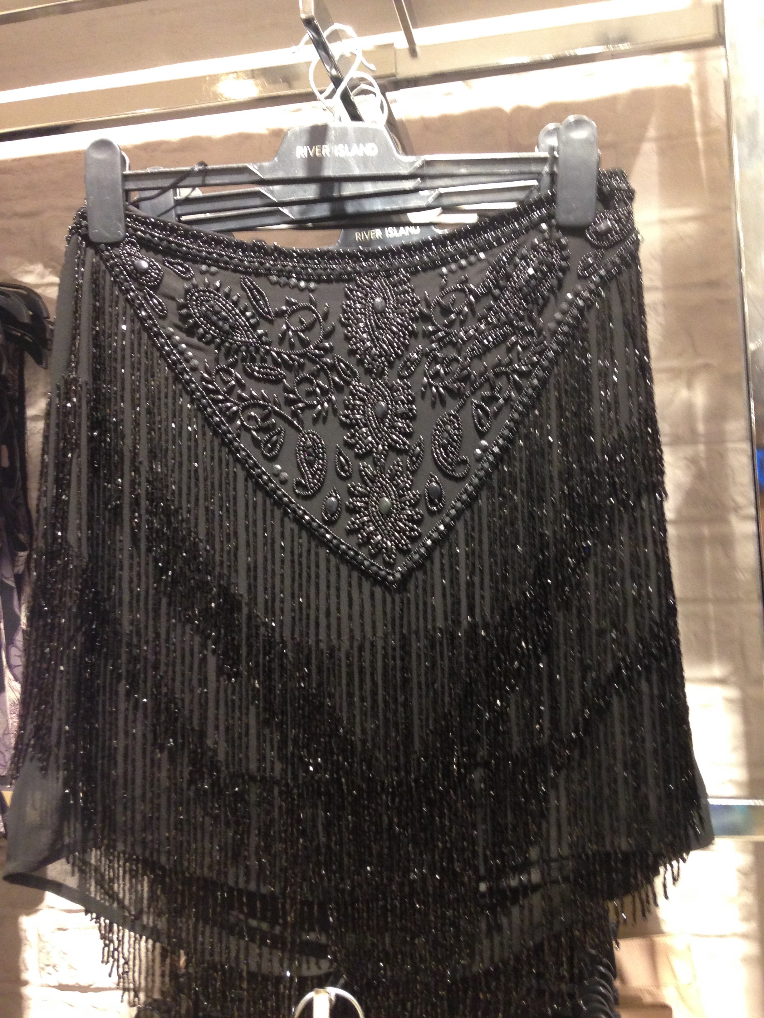 River Island! Couldn't resist including this little gem! Fab Christmas piece! Beaded and fringed Goth Moth.€87