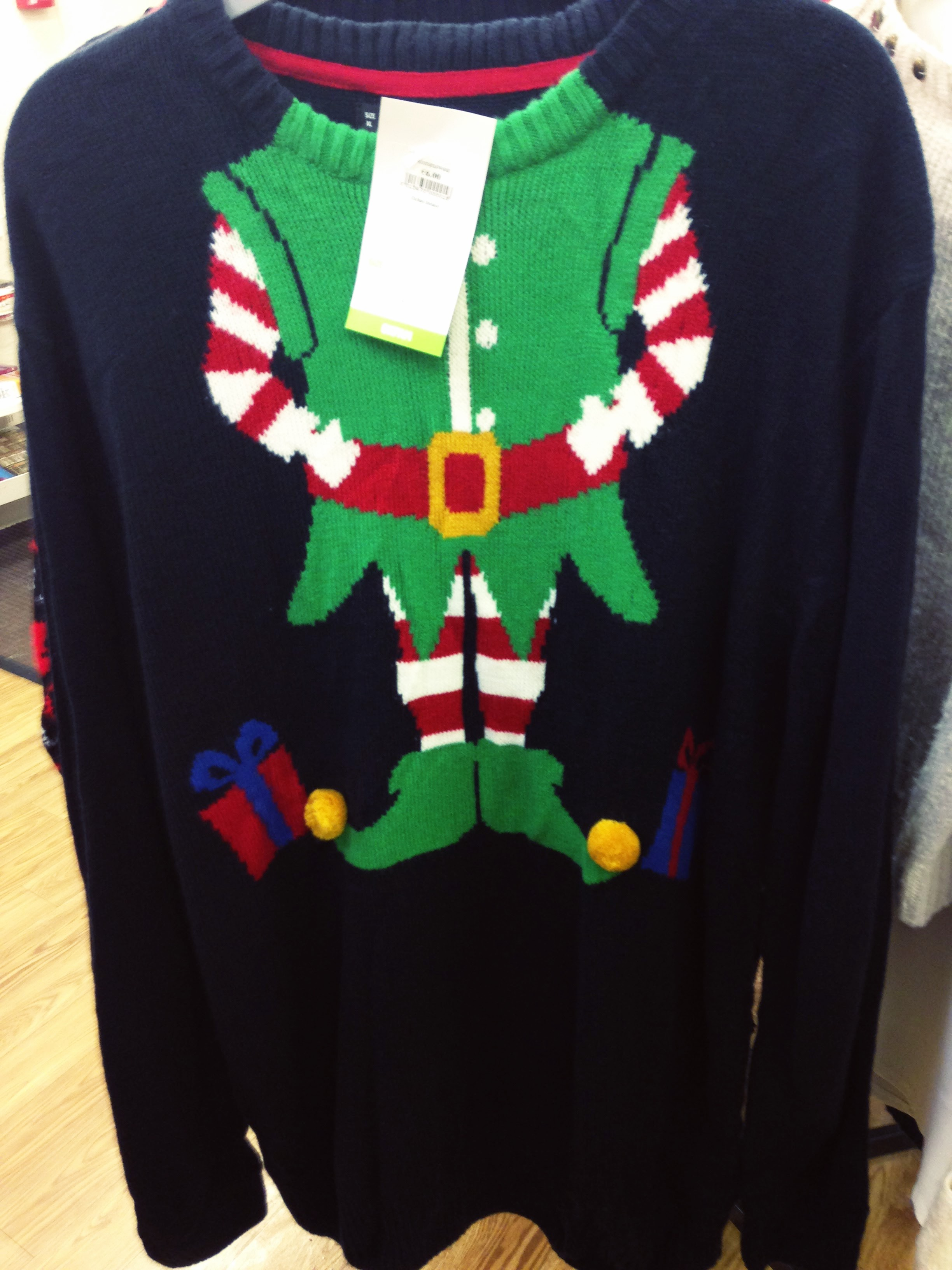 Long line xmas jumper from Oxfam Bray. Great value €6.00