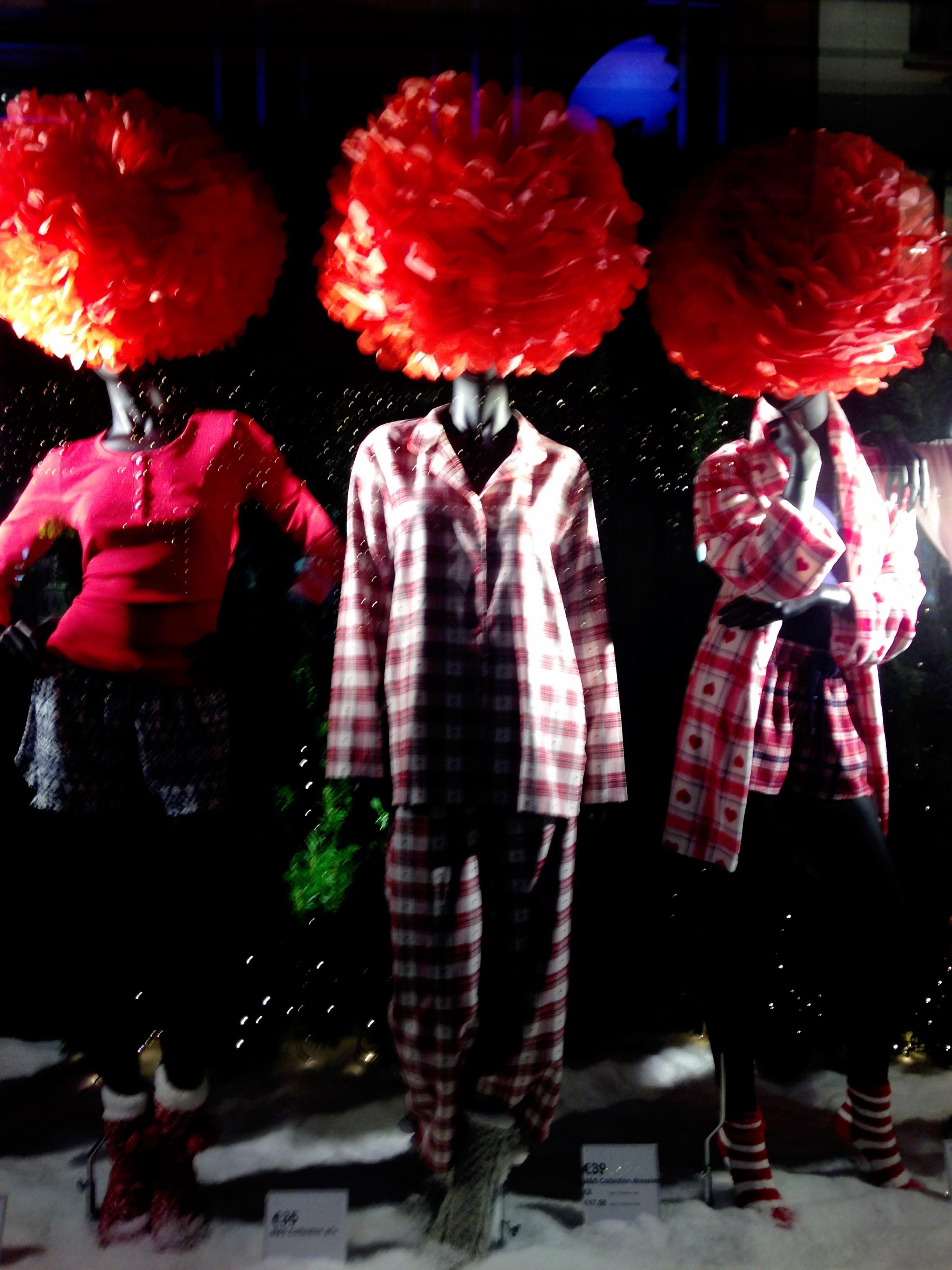 Christmas Window Gratton St, Dublin.