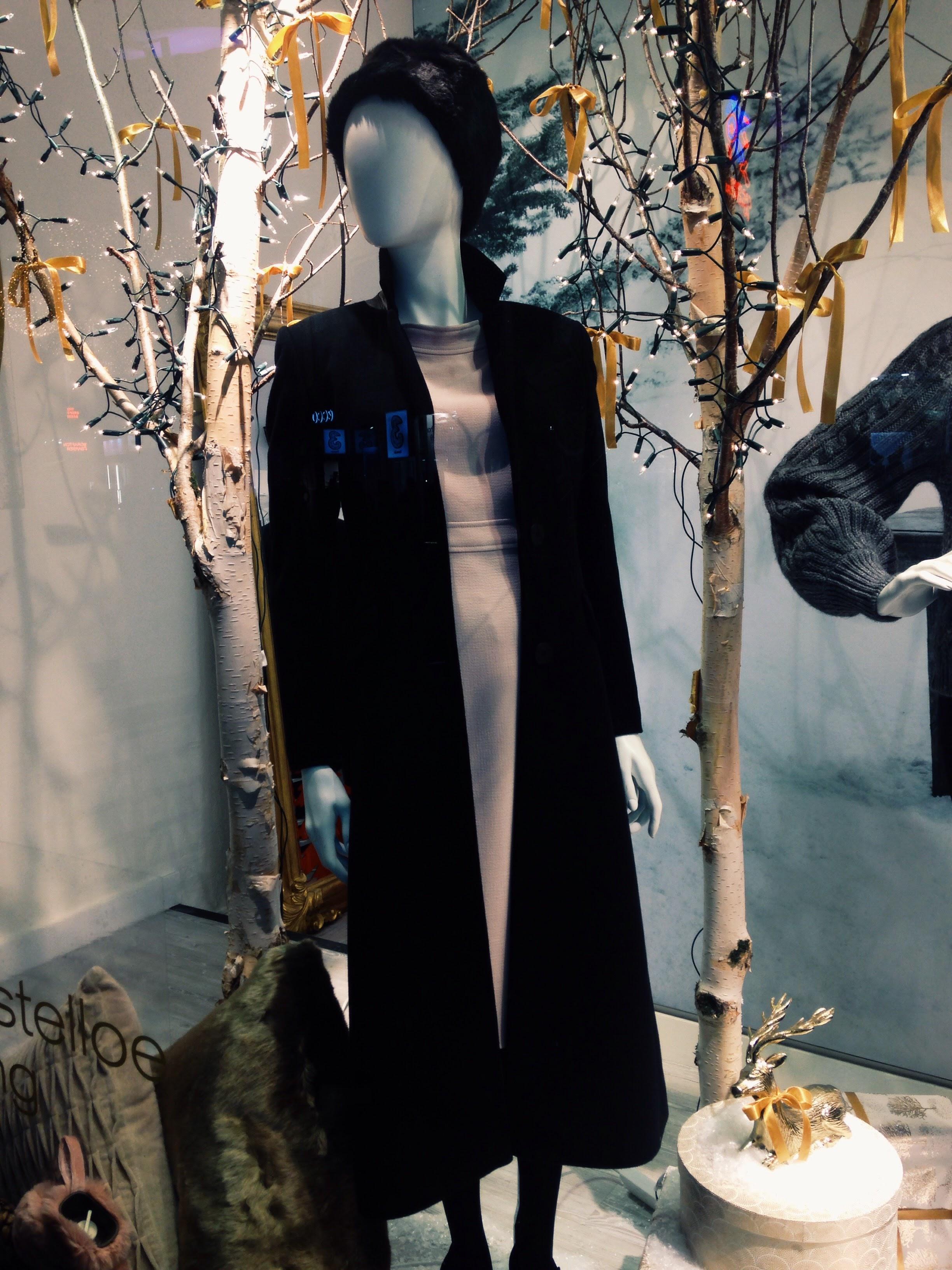 "Dunnes Stores Grafton St, Dublin! Paul Costelloe ""Studio"" line. Black coat is amazing €249.00"