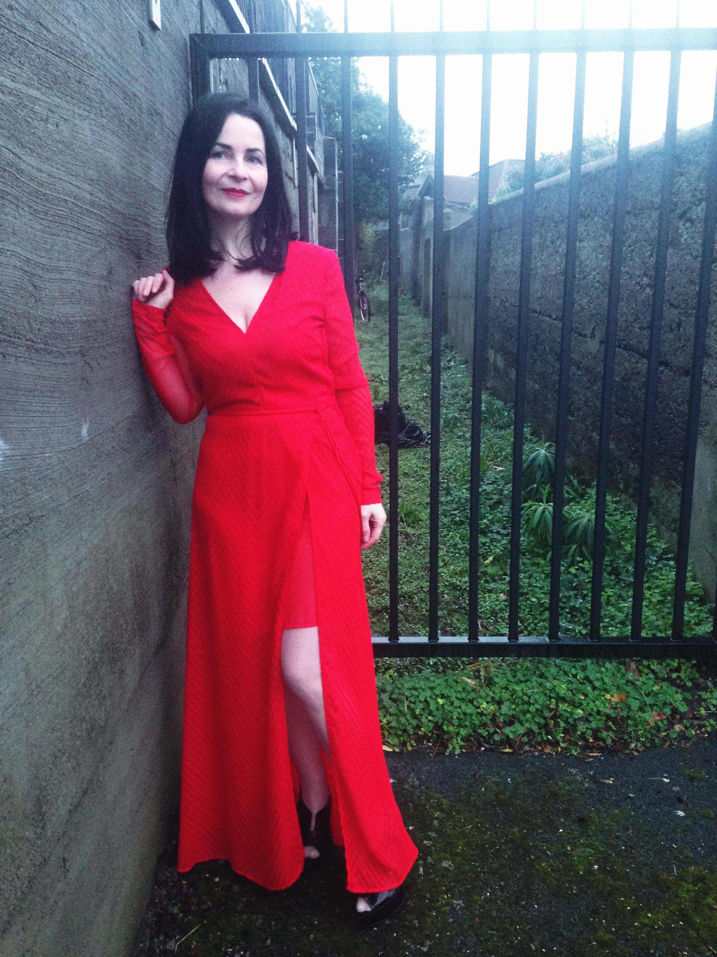 My STAR BUY for this post. Amazing retro inspired red kafton style maxi dress. H&M €19.99. AMAZING VALUE!