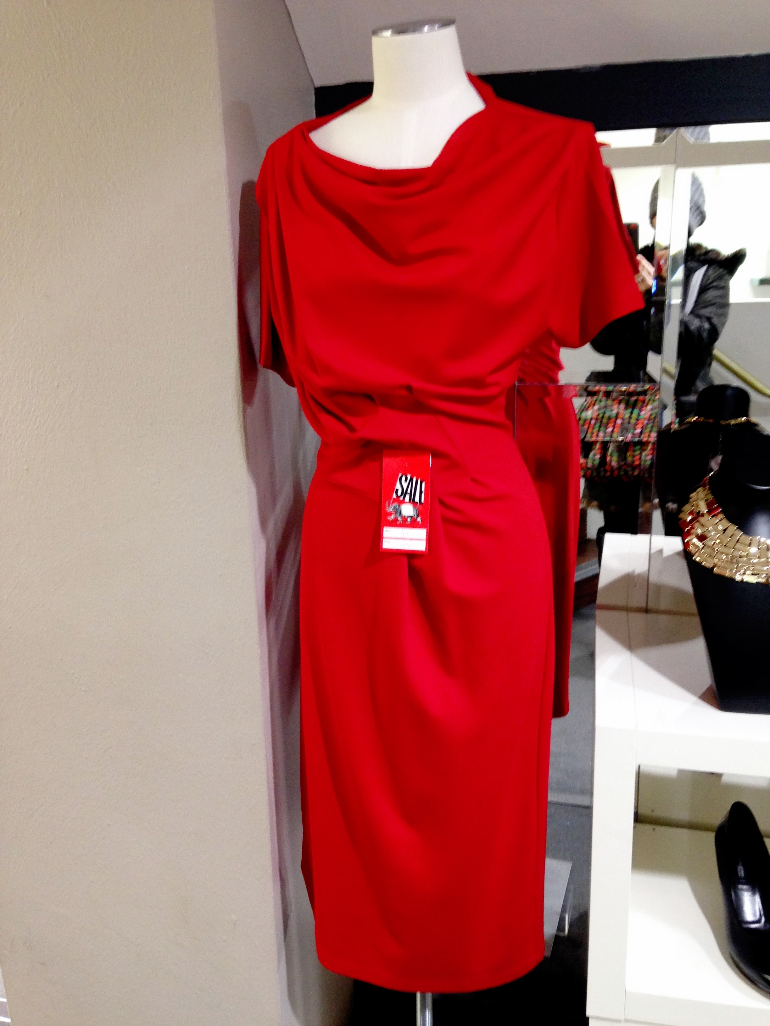 Pamela Scott, Grafton St, Dublin. This great dress from Jaegar has been reduced in the pre xmas sale from €165 - €65 WOW!