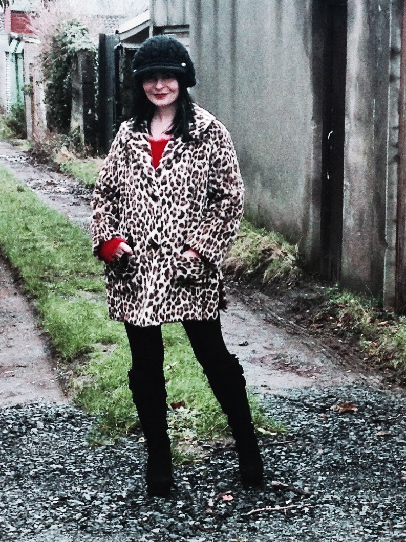 Its hard to beat an orginial vintage Leopard print!