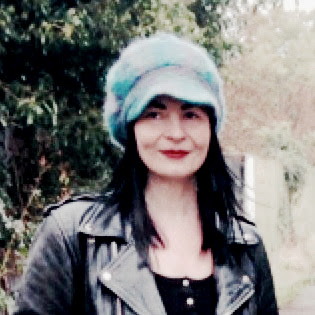 Charity shop purchase! Baker Boy style mohair 1960s vintage hat.