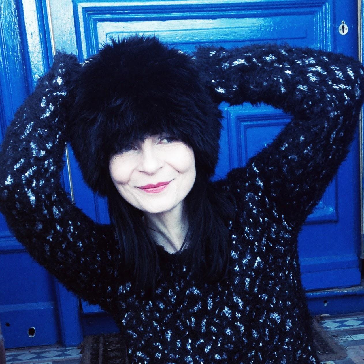Faux Fur vintage Hat!