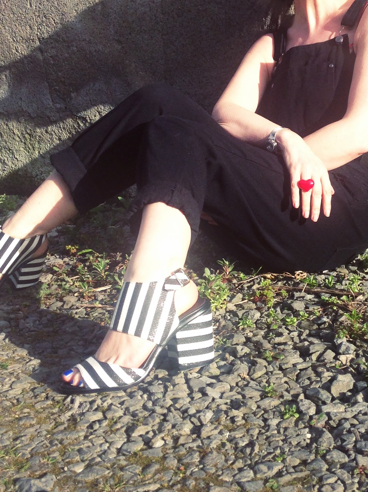 Monochrome Penneys/Primark Shoes.Love!