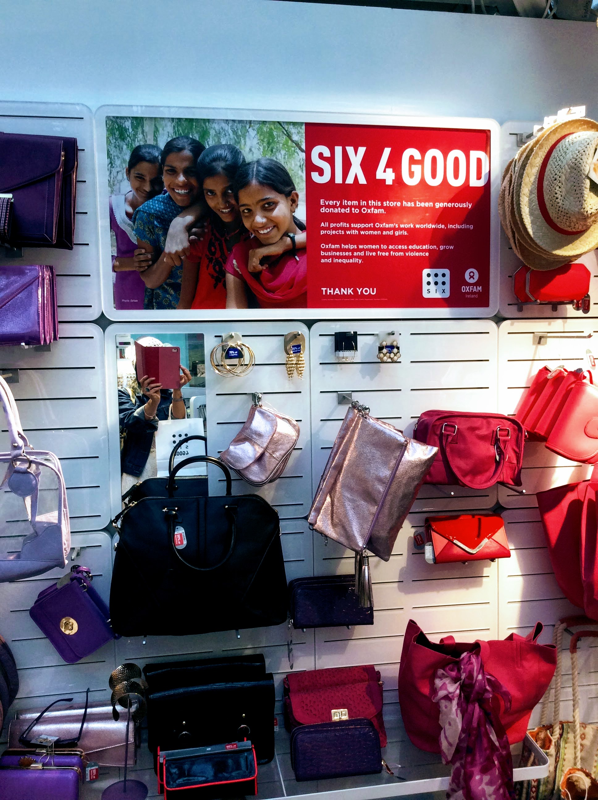 Eye-candy colour catches the light in a delightful display at SIX4GOOD.