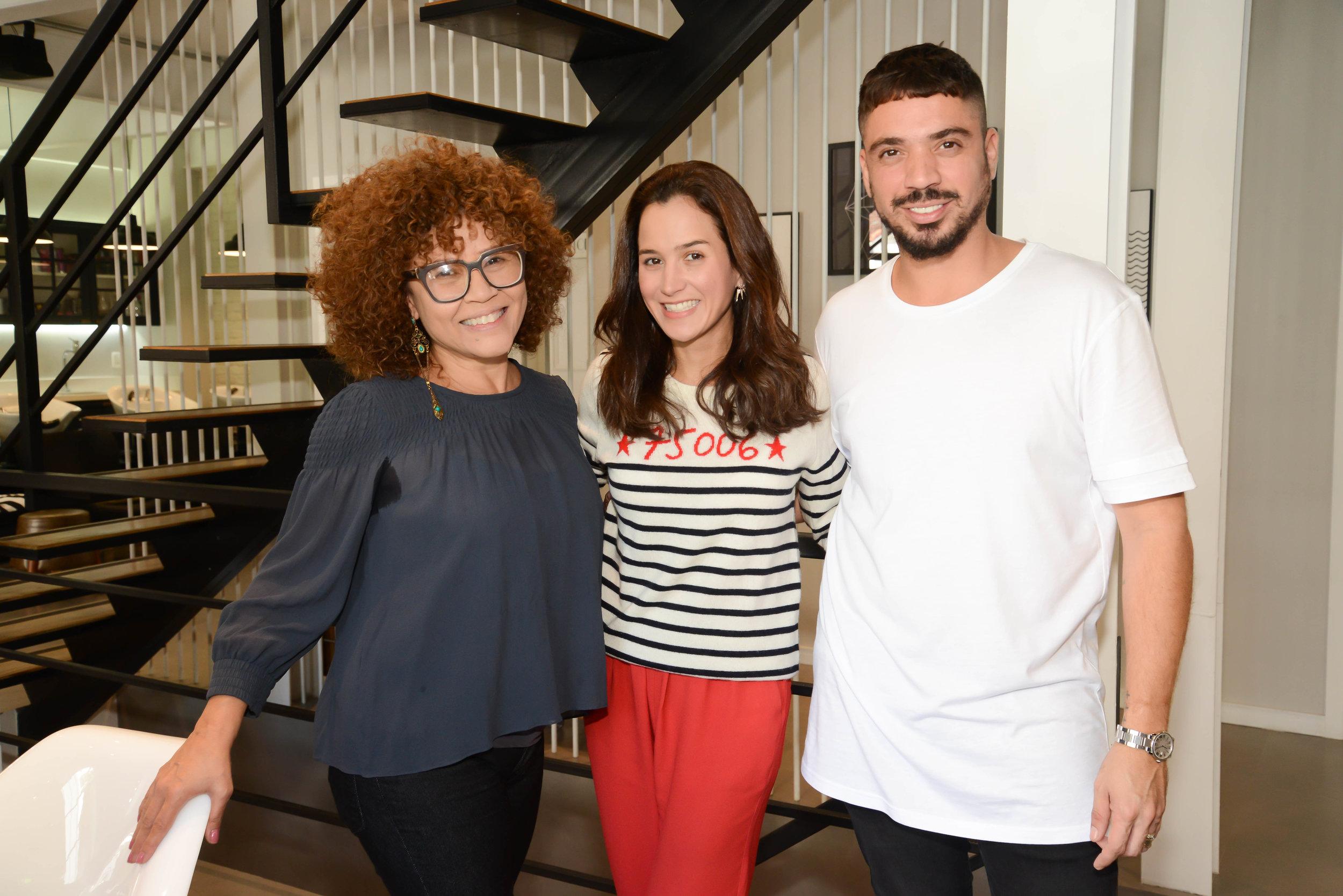 Joana Nolasco, FIL Artist Lela Athanasio e Fil Freitas