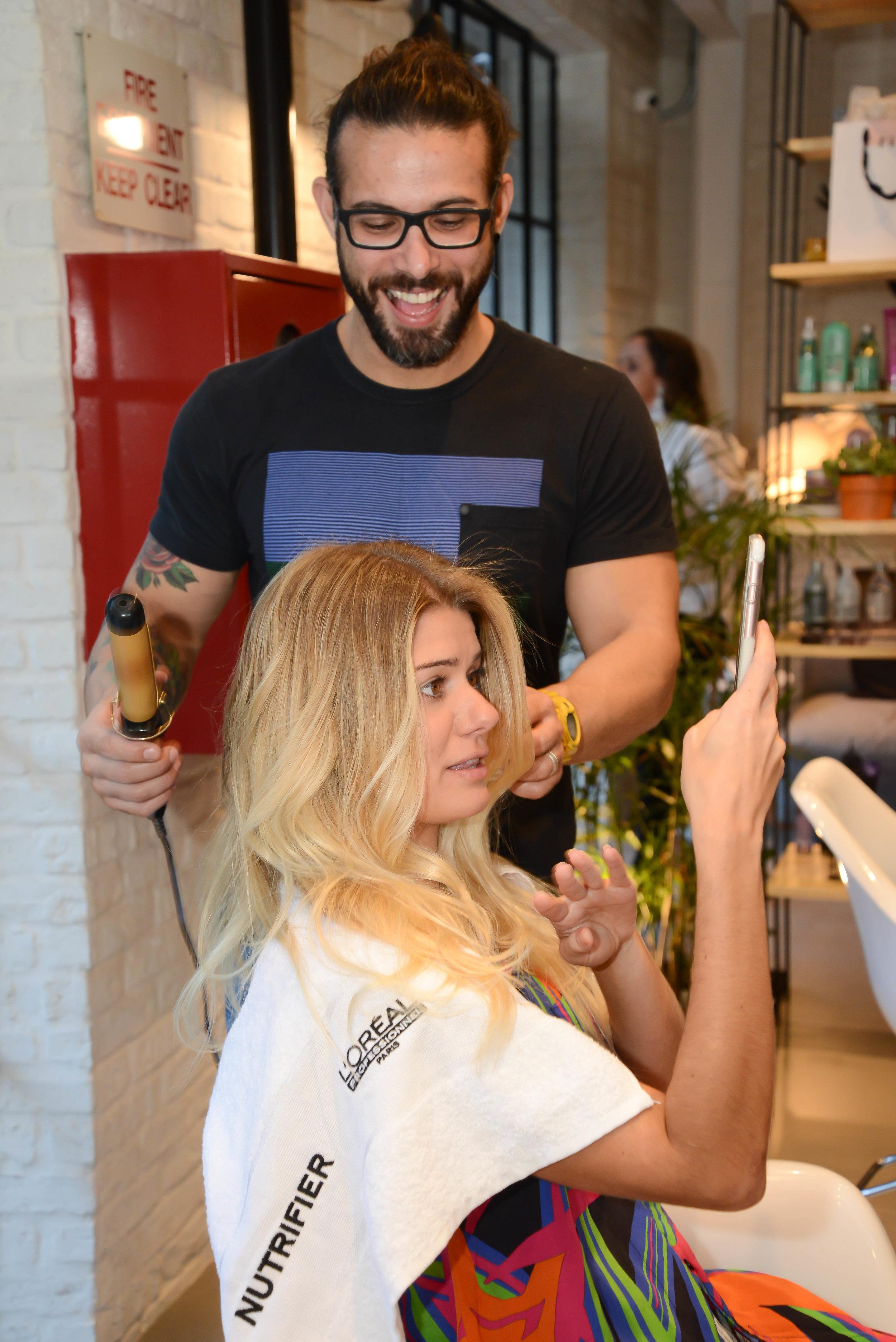 Aninha Bonillha e o FIL Artist Vitor Alperh