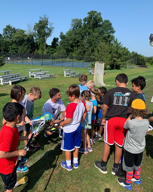 Multi Sport has tried lacrosse 🥍 , basketball 🏀 , squash, and baseball ⚾️ the past two days! #excelsummer2019 #week6