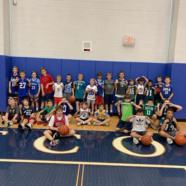 Boy's Basketball 🏀 last jersey day for the summer! #excelsummer2019 #week6