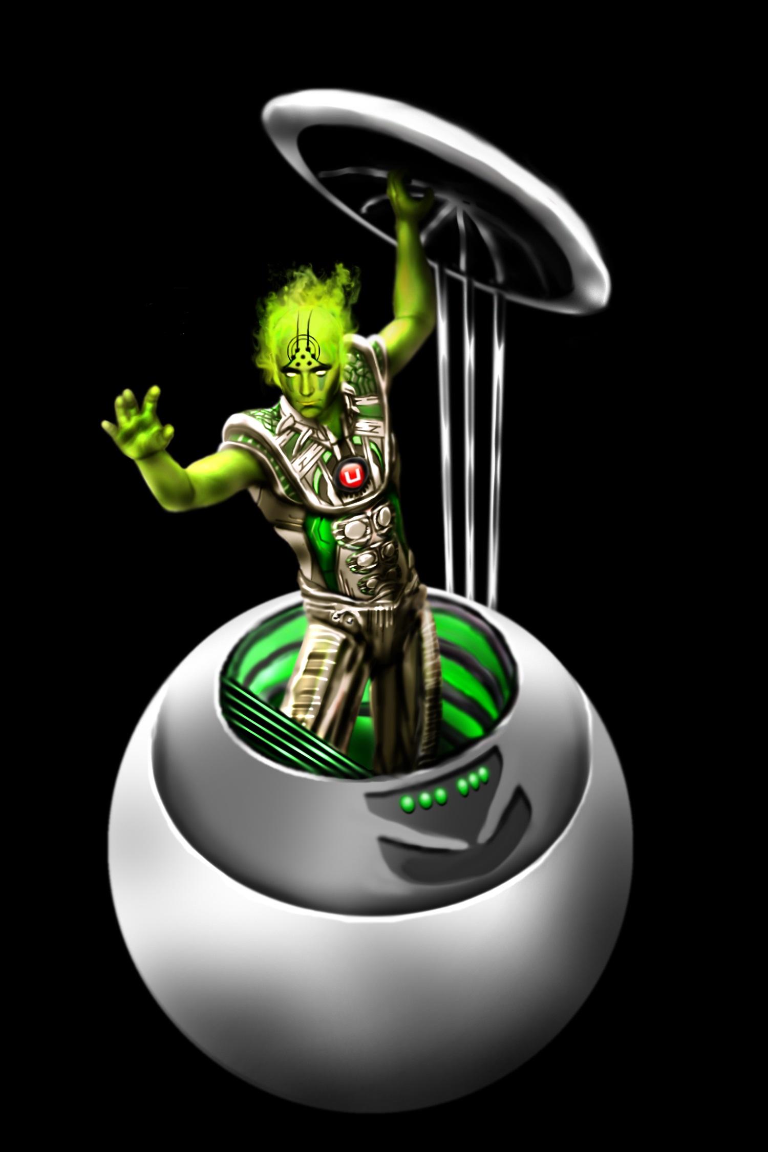 JC Alien dude