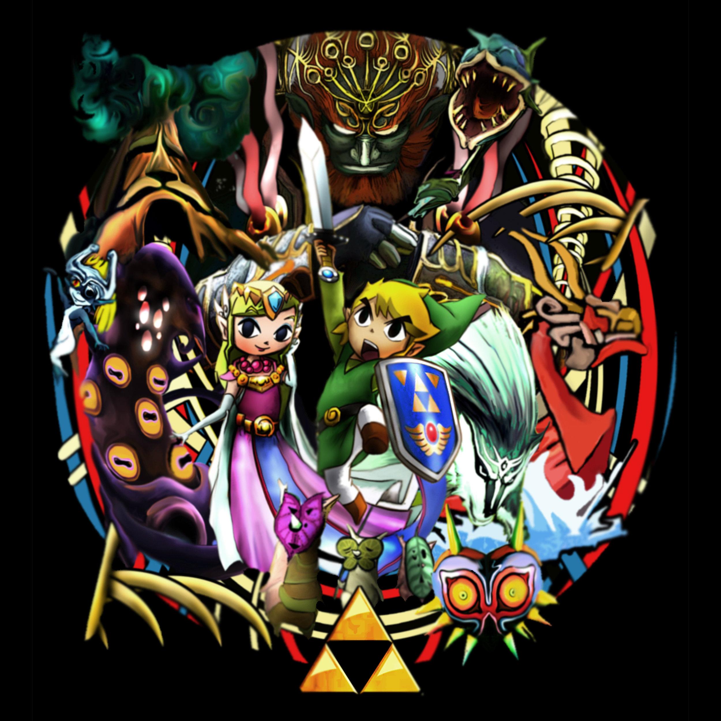 Zelda Homage colour original