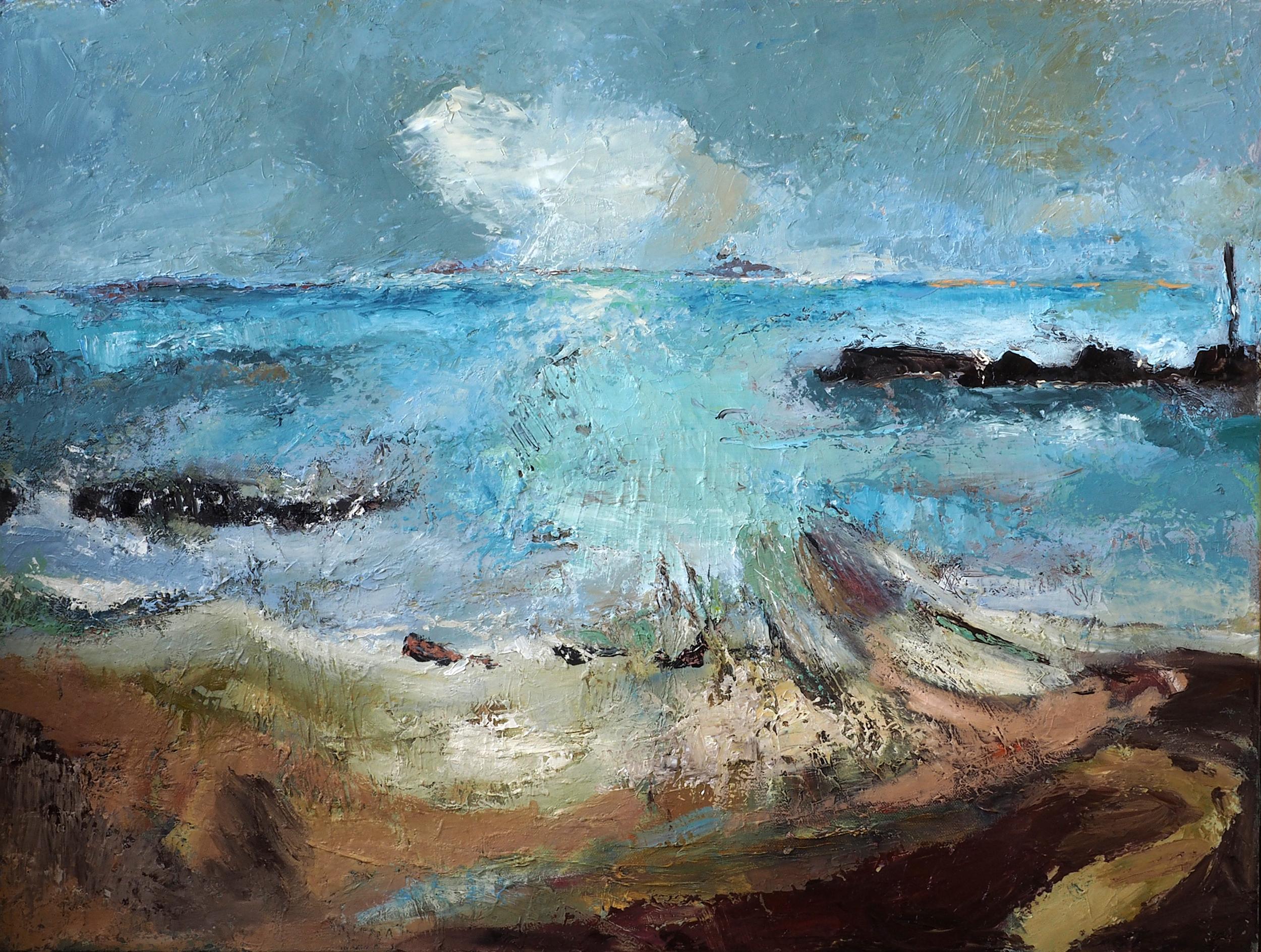 Derrycreigh,  Oil on canvas, 60cm x 80cm  (Sold)