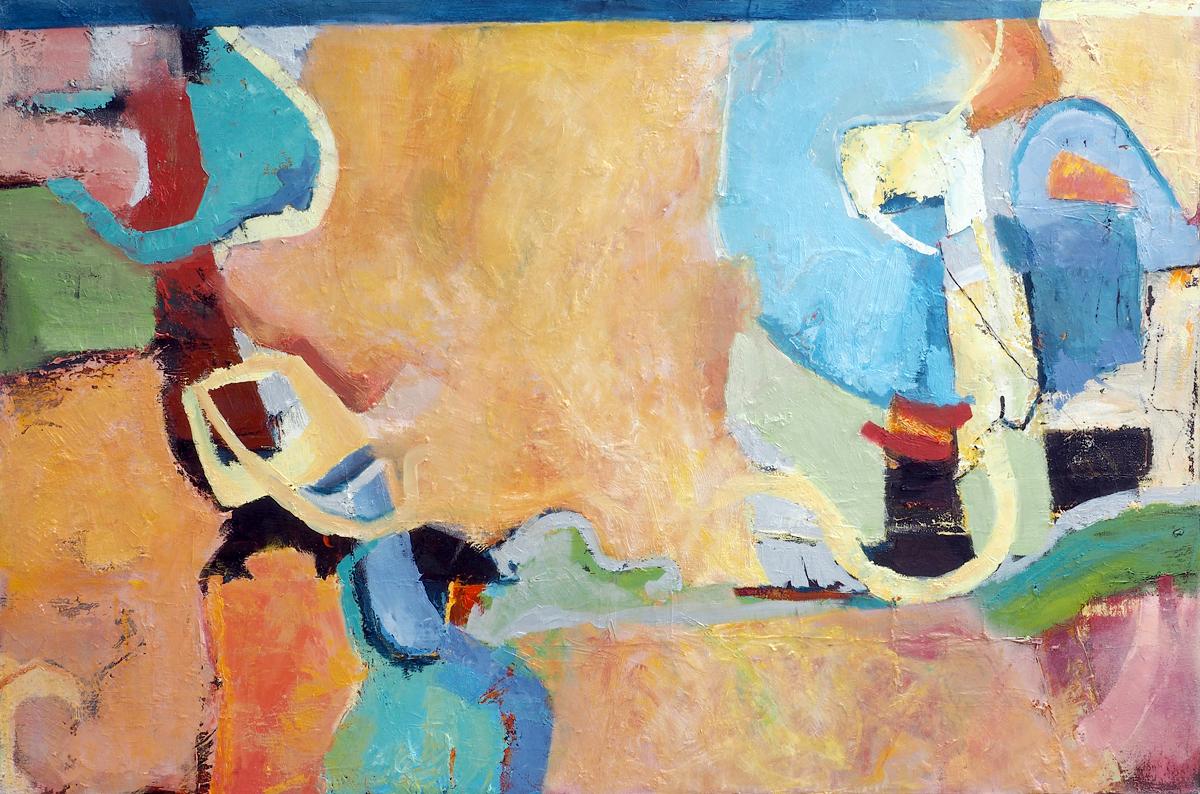 Long Strand, Harbour View , oil on canvas, 60cm x 90cm, €800 (framed)